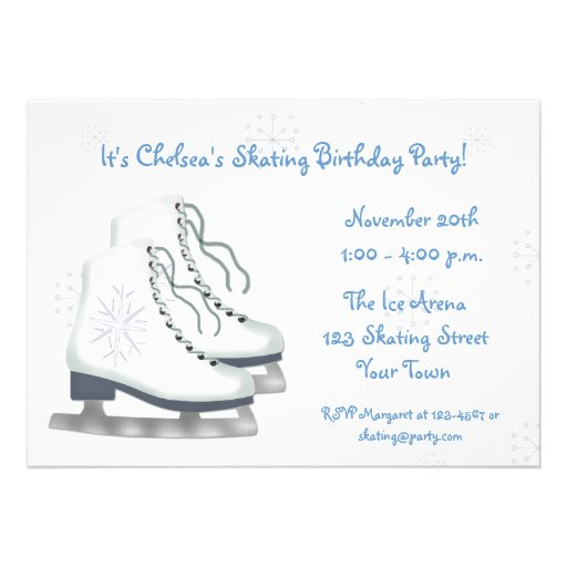 Skate Party Invitation was awesome invitation example