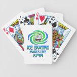 Ice Skating Spins Card Deck