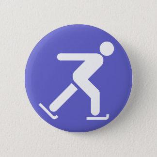 Ice Skating Symbol Button