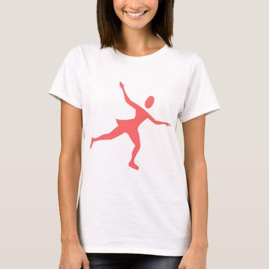Ice Skating - Tropical Pink T-Shirt