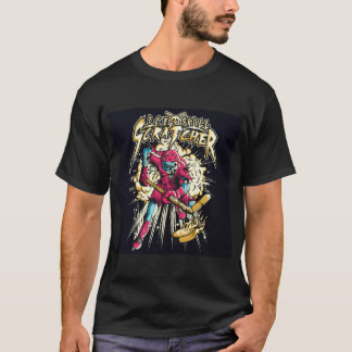 Ice Skull Scratcher T-Shirt