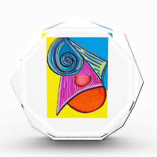 Ice Slice Acrylic Award