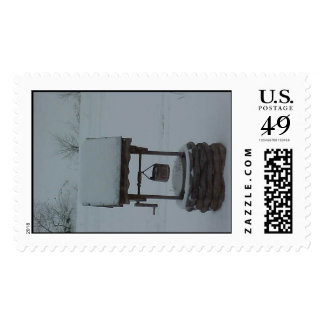 """""""ICE & SNOW"""" ON THE WISHING WELL POSTAGE"""