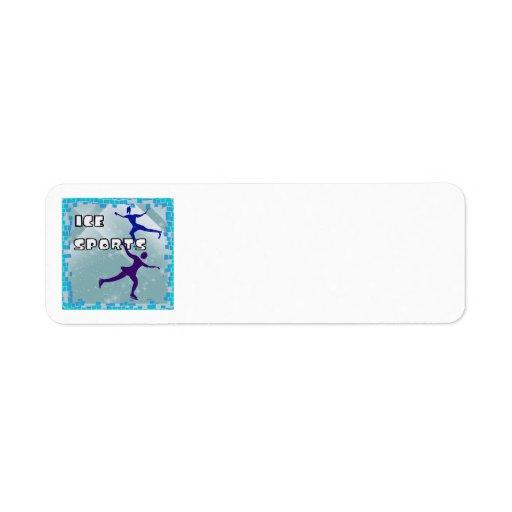 ICE SPORTS Address Labels
