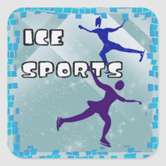 ICE SPORTS Stickers