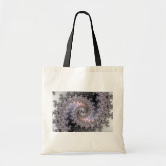 Ice Swirl - Fractal Canvas Bags