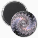 Ice Swirl - Fractal Magnet