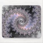Ice Swirl - Fractal Mousepad