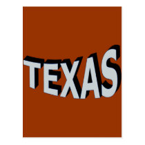 Ice Texas Postcard
