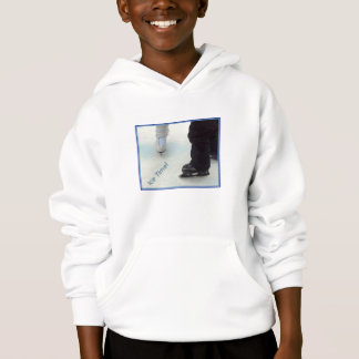 'Ice Time' Kid's Hoodie Sweatshirt
