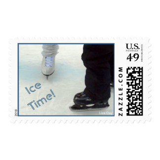 'Ice Time!' Postage