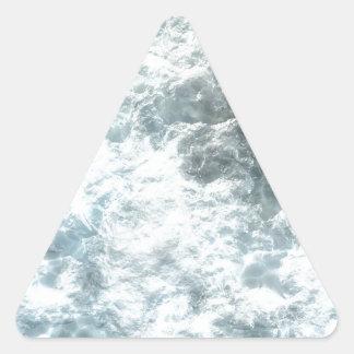 Ice Triangle Sticker