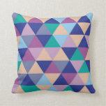 Ice Triangle Throw pillow