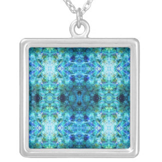 Ice Trip Silver Plated Necklace