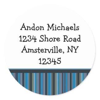 Ice Trucker Address Sticker sticker