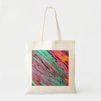 Ice under the microscope tote bag