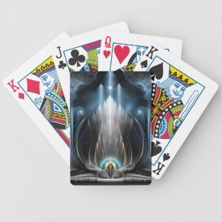 Ice Vision Of The Imperial View Digital Art Card Decks