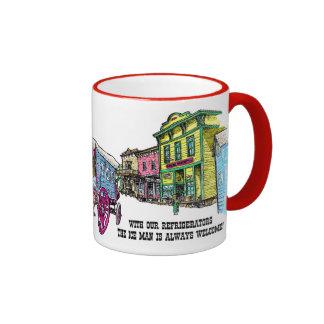 Ice Wagon Ringer Mug