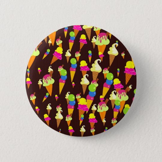 Ice Wallpaper Pinback Button