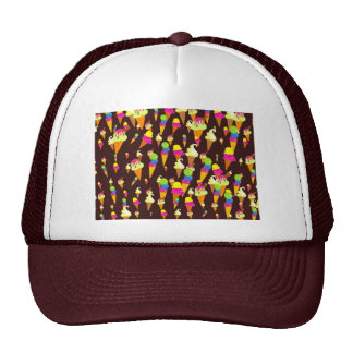 Ice Wallpaper Trucker Hat
