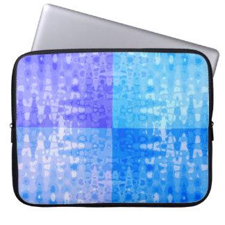 Ice Water Ripples Ocean Colors Organic Pattern Laptop Sleeve