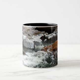 Ice Water Two-Tone Coffee Mug