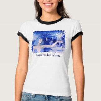 Ice Witch Human Female Mage T-Shirt