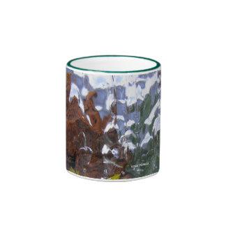 Ice World Landscape Ringer Mug