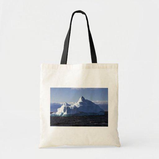 Iceberg, Antarctica Budget Tote Bag