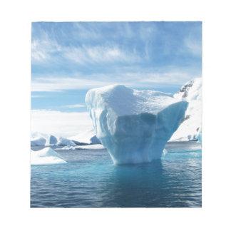 Iceberg Antarctica nature scenery Notepad