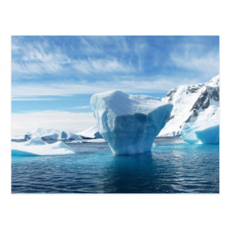 Iceberg Antarctica nature scenery Postcard