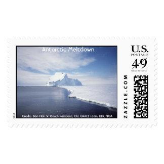 Iceberg antártico sello