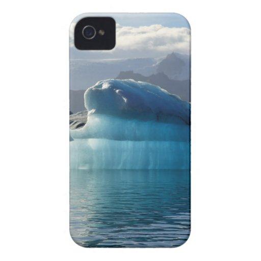 Iceberg azul iPhone 4 cárcasas