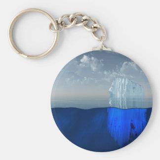 Iceberg Basic Round Button Keychain