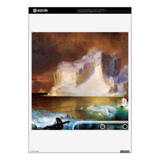 Iceberg by Frederic Edwin Church Skin For PS3 Slim