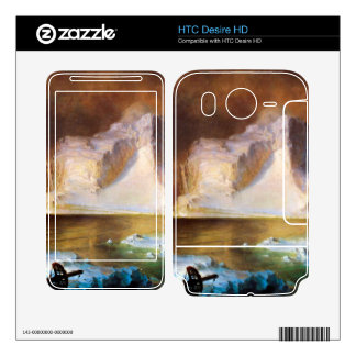 Iceberg by Frederic Edwin Church Skins For HTC Desire HD
