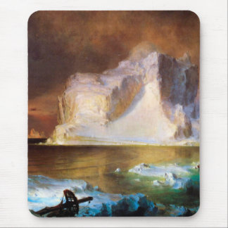 Iceberg by Frederick Edwin Church Mouse Pad