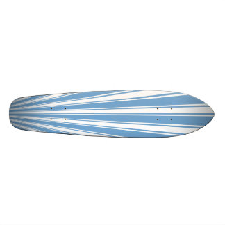 Iceberg Color Stripe Funky Pattern Skateboard