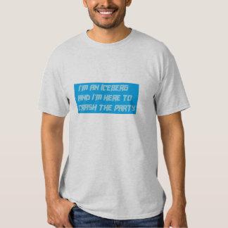 Iceberg crasher tee shirt