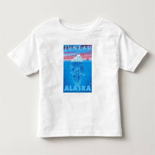 Iceberg Cross-Section - Juneau, Alaska Toddler T-shirt