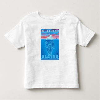Iceberg Cross-Section - Ketchikan, Alaska T Shirt