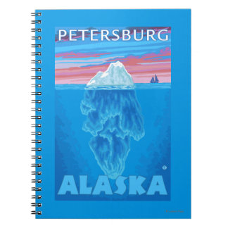 Iceberg Cross-Section - Petersburg, Alaska Notebook