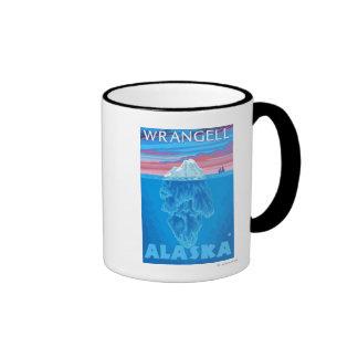 Iceberg Cross-Section - Wrangell, Alaska Mug