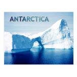 Iceberg en el estrecho de Gerlache, la Antártida Tarjeta Postal