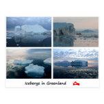 Iceberg en Greenland 3 Postales