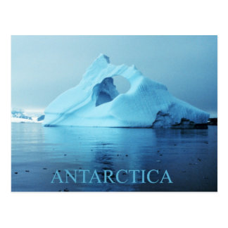 Iceberg en la Antártida Tarjeta Postal