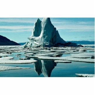 Iceberg estación meteorológica del Fiord de Slidr Esculturas Fotográficas