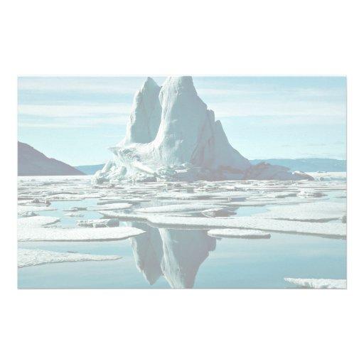 Iceberg, estación meteorológica del Fiord de Slidr Papeleria Personalizada