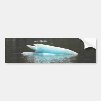 Iceberg flotante pegatina de parachoque