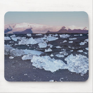Iceberg formation on the beach mousepads